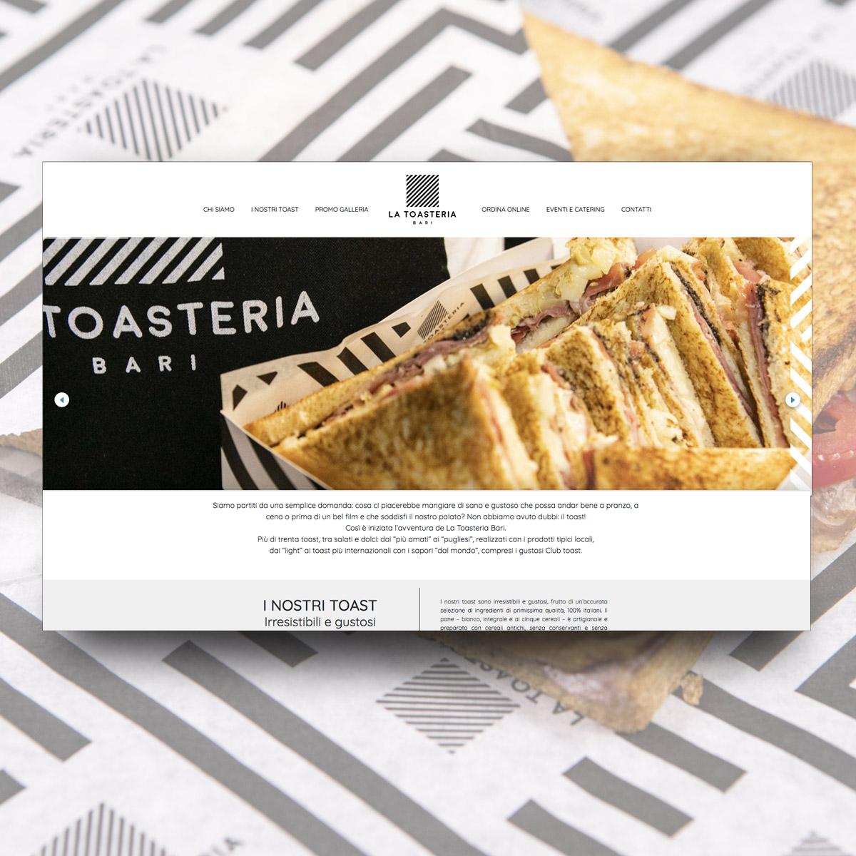 Sito Web La Toasteria Bari