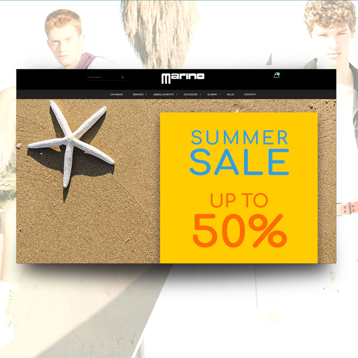 Homepage Marino Boutique