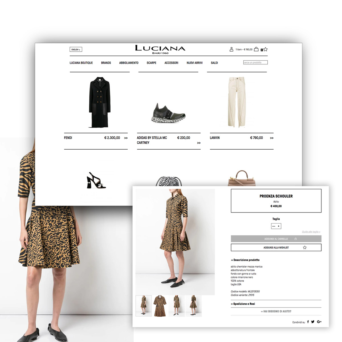 Ecommerce - Luciana Boutique