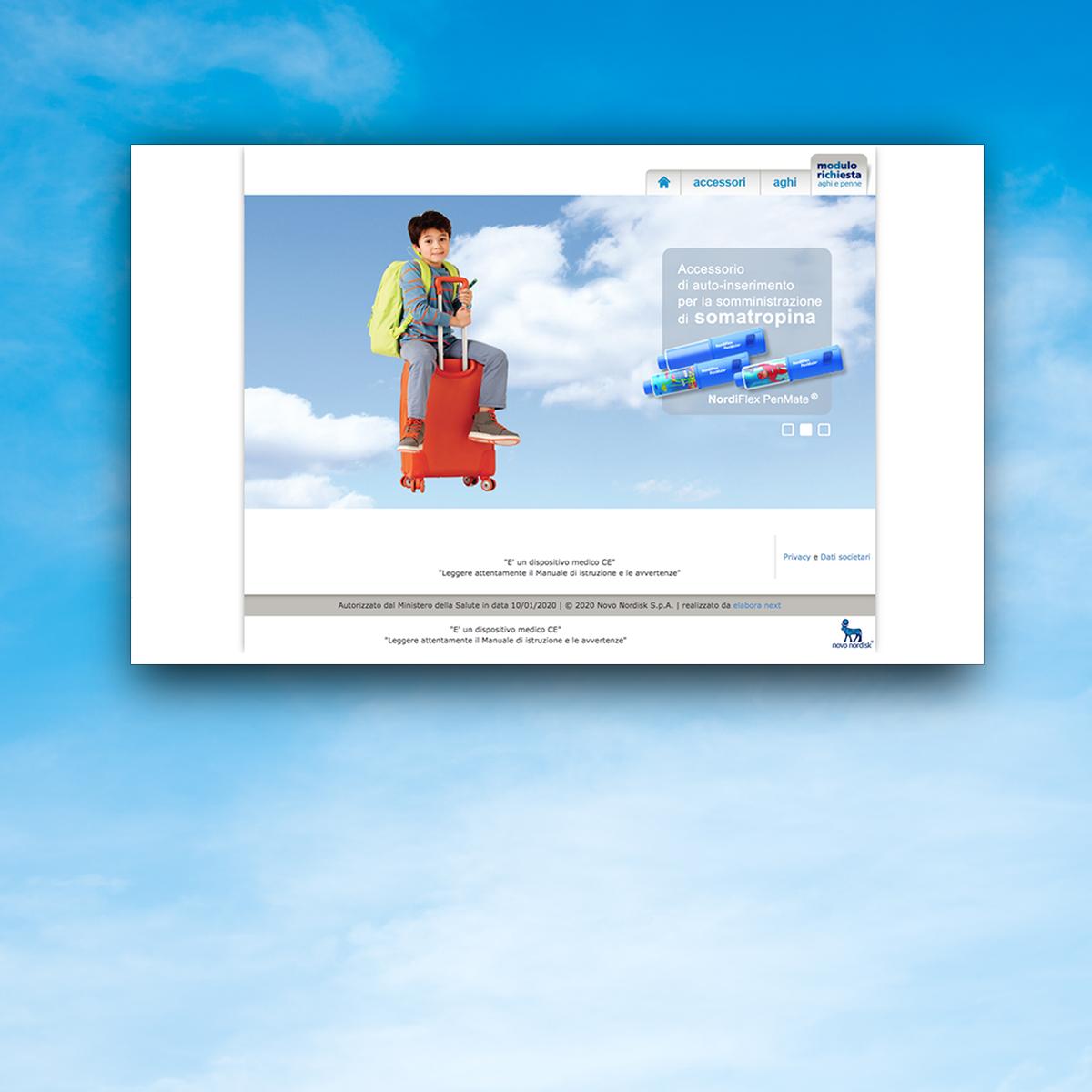 Progettazione Sito per Nori Online
