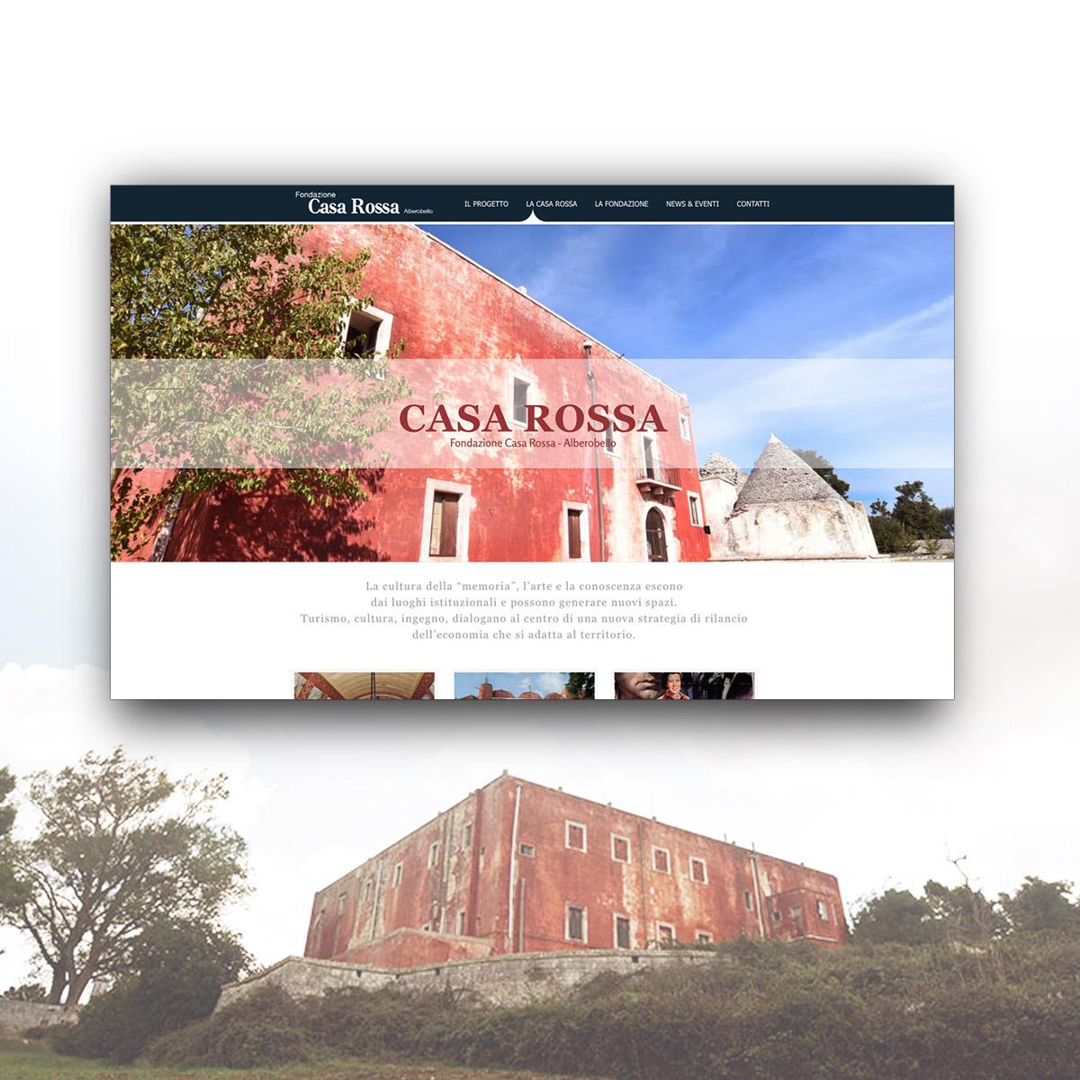Fondazione Casa Rossa - Sito web