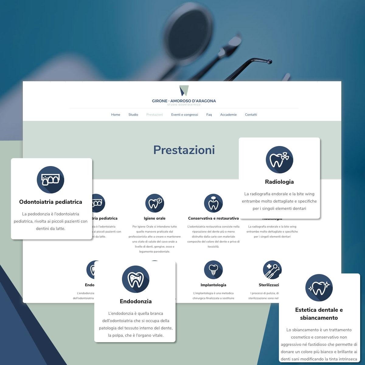 Sito web - Studio Odontoiatrico