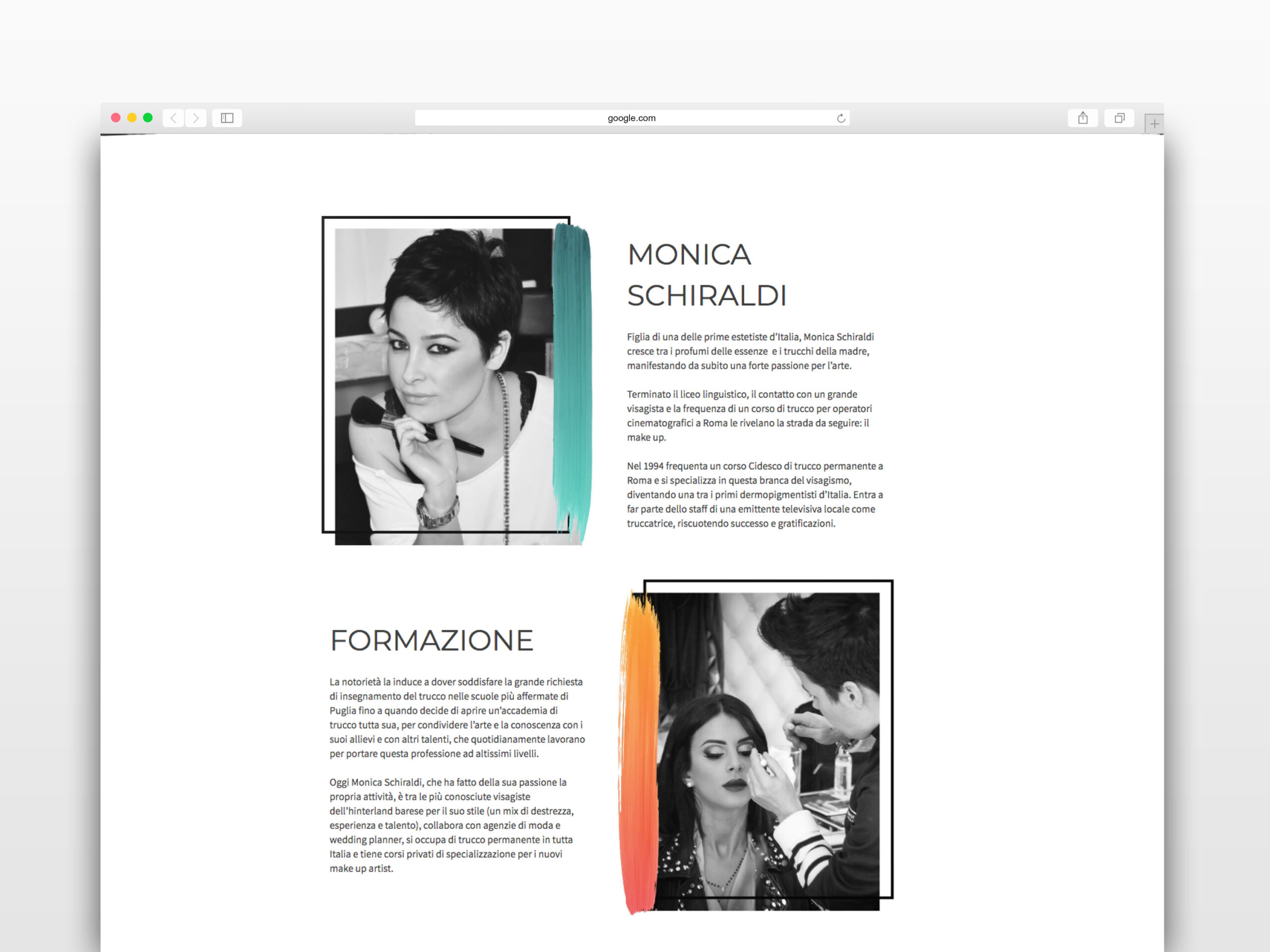 Monica Schiraldi Sito Web